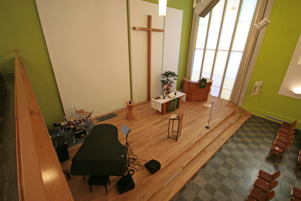 Kirche Frankfurt - Kellerwald-Diele Eiche Tradition